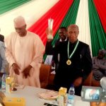 Award Of Excellence to Prof. Suleiman Bogoro