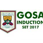 GOSA '2017 induction: Photos